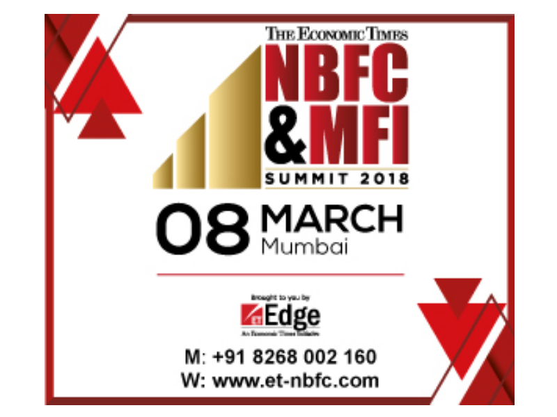 The ET announces the first edition of NBFC & MFI Summit 2018