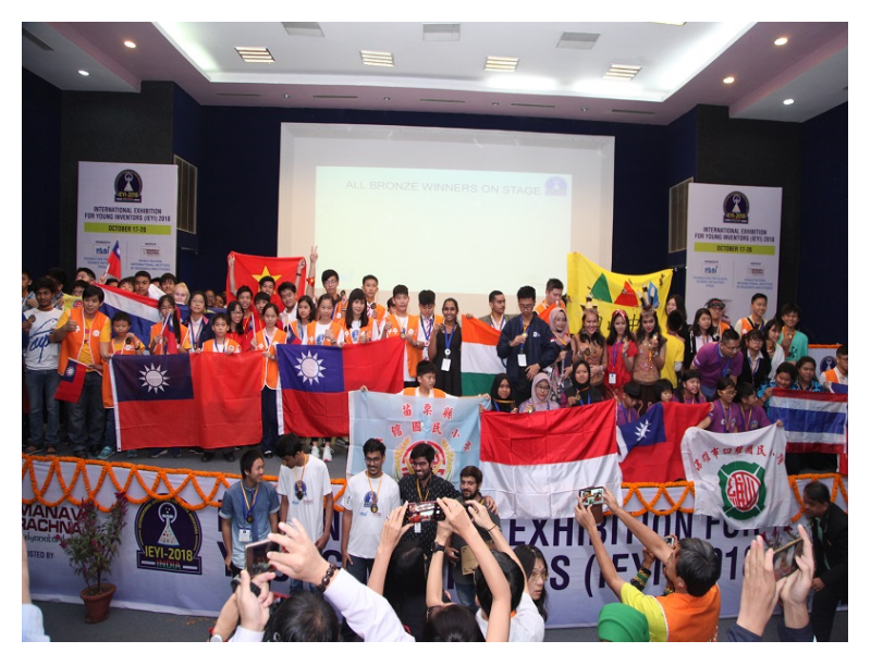 Innovators from 14 countries congregate at Manav Rachna for 'International Exhibition for Young Inventors 2018'