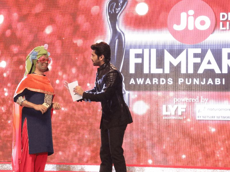 1st edition of Jio Filmfare Awards Punjabi 2017